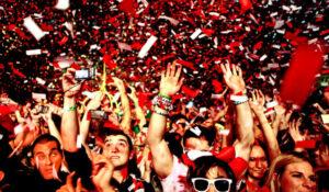 crowd loves Birthday celebrations with DJs