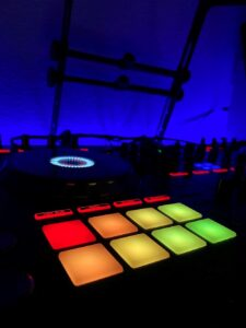 DJ service for a graduation party